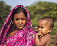 Gesichter von Indien Lizenzfreie Stockfotografie