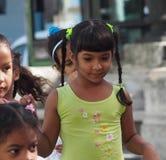 Gesichter von Kuba-Schulkindern auf Paseo Del Prado lizenzfreie stockbilder