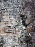 Gesichter von Siem Reap Stockfotografie