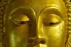 Gesichts-Buddha-Nahaufnahme stockfoto
