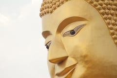 Gesichts-Buddha-Statue Lizenzfreie Stockfotos