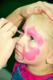 Gesichts-Malerei Lizenzfreies Stockfoto