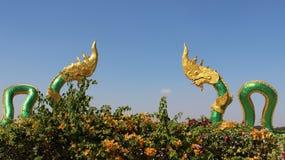 Gesichtskönig von Nagas Stockbild