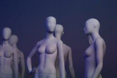 Gesichtslose Mannequine Lizenzfreie Stockbilder