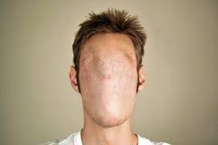 Gesichtsloser Mann Stockfoto