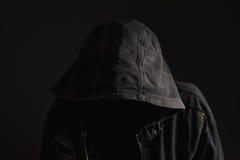 Gesichtsloser unerkennbarer Mann ohne Identität Lizenzfreies Stockbild