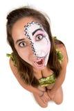 Gesichtsmalerei Lizenzfreies Stockbild