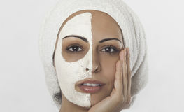 Gesichtsmaske Stockfotos