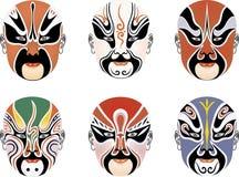 Gesichtsmaske lizenzfreie abbildung