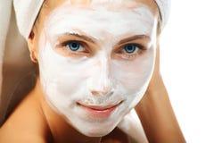 Gesichtsmaske stockfoto