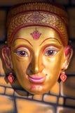 Gesichtsmaske der thailändischen Göttin Stockfotos