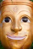 Gesichtsmaske des thailändischen Gottes Lizenzfreie Stockfotos