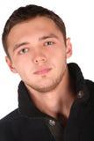 Gesichtsnahaufnahme des jungen Mannes Lizenzfreie Stockbilder