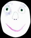 Gesichtspapier Lizenzfreie Stockbilder