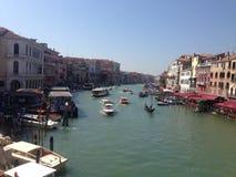Gesichtspunkt in Venedig stockbild