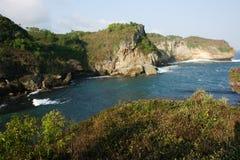 Gesing beautiful beach Royalty Free Stock Image