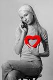 Geslacht en hartstocht Stock Foto's