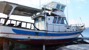 Gesloopt Schip Royalty-vrije Stock Foto's