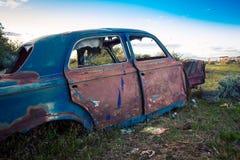 Gesloopt verlaat auto Argentinië royalty-vrije stock fotografie