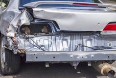 Gesloopte Auto Royalty-vrije Stock Fotografie