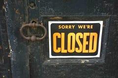 gesloten Stock Foto's