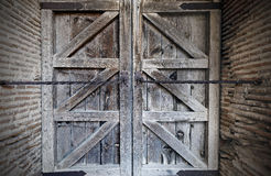 Gesloten deur Stock Foto