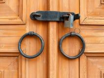 Gesloten deur Stock Fotografie
