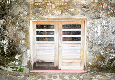 Gesloten deuren Royalty-vrije Stock Foto's