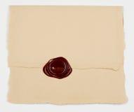 Gesloten envelop Stock Afbeelding