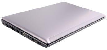 Gesloten geïsoleerdg Laptop Royalty-vrije Stock Afbeelding