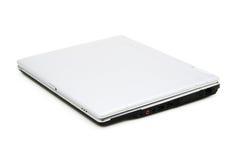 Gesloten (geïsoleerdu) Laptop Royalty-vrije Stock Afbeelding