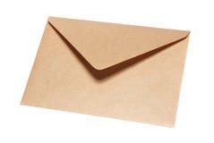 Gesloten geweeste document envelop stock afbeelding