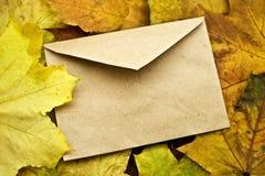Gesloten geweeste envelop Stock Afbeeldingen