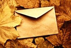 Gesloten geweeste envelop Royalty-vrije Stock Afbeelding