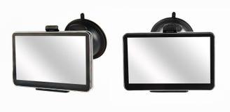 Gesloten GPS-navigatieapparaat Royalty-vrije Stock Afbeeldingen
