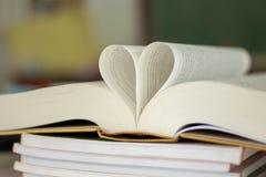 Gesloten hartvorm royalty-vrije stock afbeeldingen