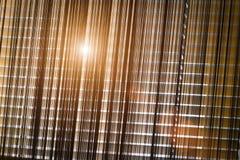 Gesloten horizontale zonneblinden royalty-vrije stock afbeelding