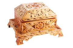 Gesloten juwelendoos. Royalty-vrije Stock Foto's
