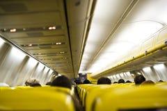Gesloten luchthaven, geannuleerde vluchten Stock Foto's