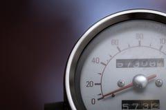 Gesloten omhoog uitstekend motorfietsdeel stock foto