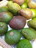 Gesloten omhoog vers Avocadofruit Royalty-vrije Stock Afbeelding