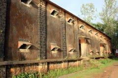 Gesloten onderaan Fabriek royalty-vrije stock fotografie