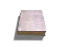 Gesloten oud boek, 3D illustratie Royalty-vrije Stock Fotografie