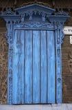 Gesloten oud venster royalty-vrije stock foto's