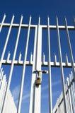 Gesloten poort Royalty-vrije Stock Foto's