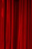 Gesloten rood fluweel Royalty-vrije Stock Foto