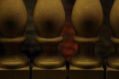 Gesloten in Steen Stock Fotografie