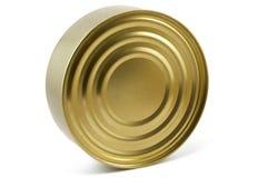 Gesloten tincan Royalty-vrije Stock Afbeelding