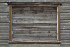 Gesloten venster Stock Fotografie