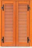 Gesloten venster. Royalty-vrije Stock Afbeelding